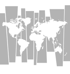 World map graphic concept background vector image vector image