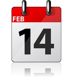 Modern calendar icon vector