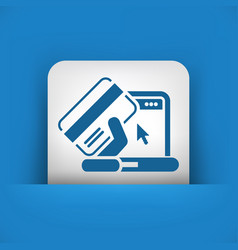 buy online icon vector image