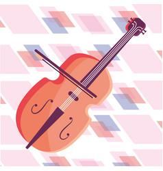 Cello isolated icon vector