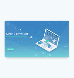 Concepts mobile payments vector