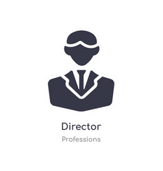 Director icon isolated director icon from vector