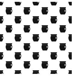 Honey bank pattern vector