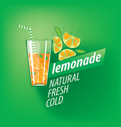 Logo for lemonade vector