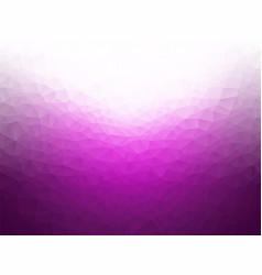 low poly purple white background vector image