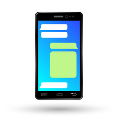 Mobile phone 4 vector