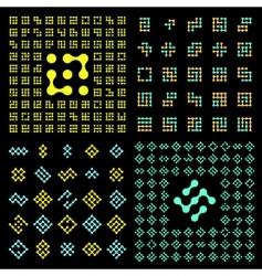 Vector pictogram set vector