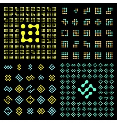 vector pictogram set vector image