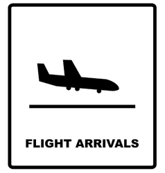 Airport sign airport icons set vector
