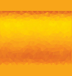 orange polygonal background vector image vector image