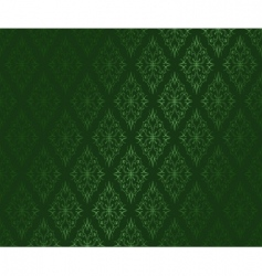 dark green ornamental vector w vector image