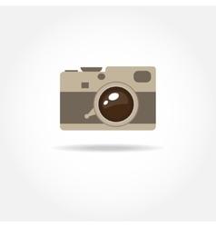 Abstract camera logoCamera icon in format vector image