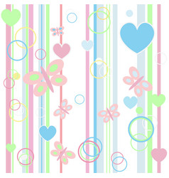 Baby blue seamless background vector