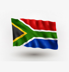 flag southern african republic vector image