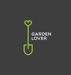 Garden lover logo vector