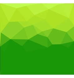 Green polygon abstrac vector