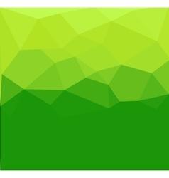 Green polygon abstract vector