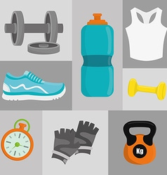 Gym digital design vector