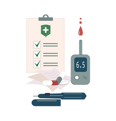 Health insurance attributes and check list vector