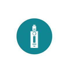 personal vaporizer e-cigarette icon vector image