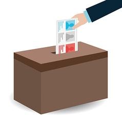 Political design vector image