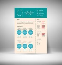Resume vector