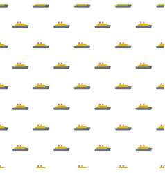 Steamship pattern seamless vector