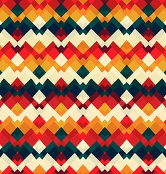vintage bright seamless pattern vector image