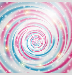 abstract blue and pink wave on background vector image