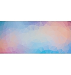 Blue Violet abstract polygonal pastel background vector