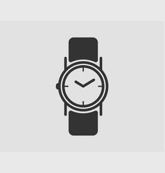 hand wrist watch icon wristwatch vector image