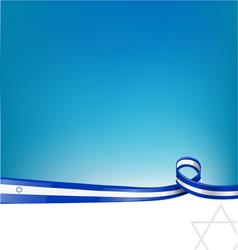 Isdrael flag vector