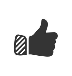 Like thumb up icon vector