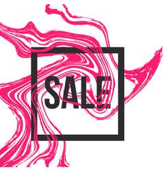 sale frame for social media vector image