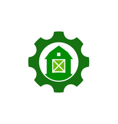 Tool farm logo icon design vector