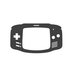 Video game joystick icon vector