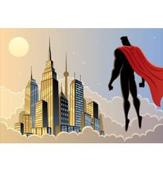 Superhero Watch 5 vector image