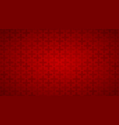 abstract background of crosses vector image