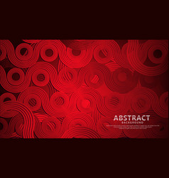 Abstract futuristic colorful circle and waves vector