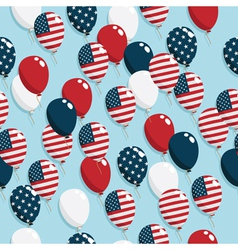 american balloons vector image