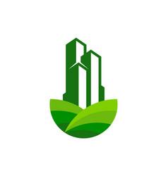 Building farm logo icon design vector