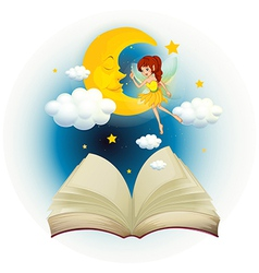 Fairy Book vector