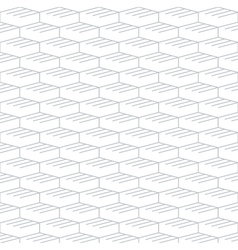 Geometric seamless pattern and background linear vector