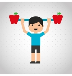 Gym sport icon design vector