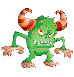 Halloween Monster 3 vector image