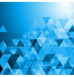 hi-tech bright background vector image vector image