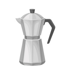 kettle for making tea element vector image