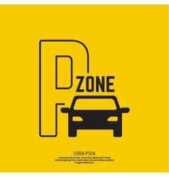 Pointer to car parking zone vector