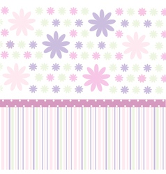 Seamless pattern wallpaper vector image