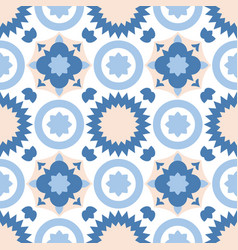 Tile pastel decorative floor tiles pattern vector